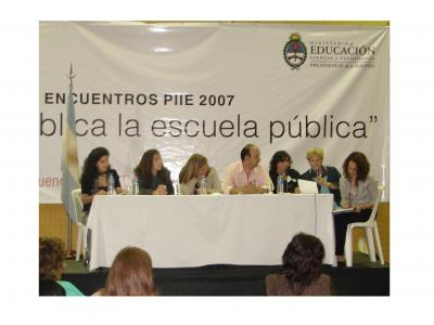 Ponencia en el encuentro regional del PIIE en el CENAR