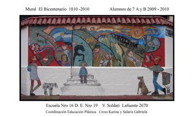 Mural El bicentenario