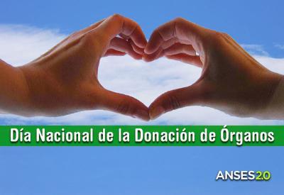 30 de mayo Día Nacional de la Donación de Órganos